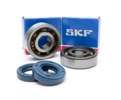 Rodamientos y retenes de cigueñal SKF TN9/C3 AM6