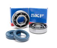 Rodamientos y retenes de cigueñal SKF TN9/C4 20mm AM6