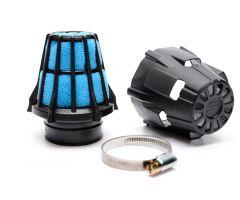 Filtro de aire Polini Blue air box recto Ø46mm