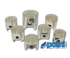 Piston Polini Evolution 70cc 47,6mm bulón de 12mm para Minarelli Vertical