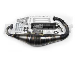 """Tubo de escape Polini """" Evolution 2 """" 70cc Minarelli Vertical"""