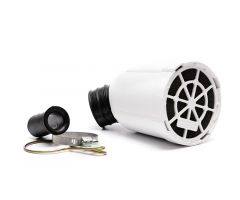 Filtro de aire system Doppler Blanco Ø35mm