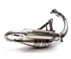Tubo de escape Doppler RR7 Minarelli Vertical