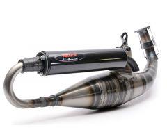 Tubo de escape MVT Racing SC 90cc Minarelli Horizontal