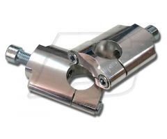 Torretas de manillar Scar D28mm H55mm Plata
