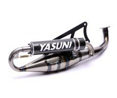 Tubo de escape Yasuni Carrera 20 Minarelli Horizontal Carbono