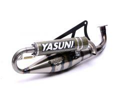 Tubo de escape Yasuni Carrera 20 Minarelli Horizontal kevlar