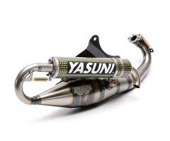 Tubo de escape Yasuni Carrera 20 Piaggio kevlar
