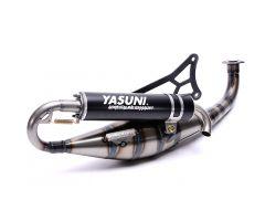 Tubo de escape Yasuni Carrera 21 Minarelli Horizontal black-edition