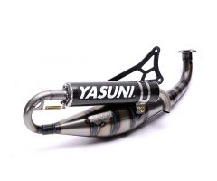 Tubo de escape Yasuni Carrera 21 Minarelli Horizontal Carbono