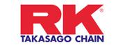 Catalogue de pièces et accessoires RK pour Moto