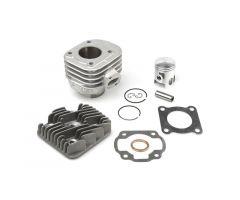 Kit cylindre Airsal Alu 50cc Minarelli Horizontal AC