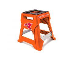 Bequille lève motocross Racetech TT R15 Orange