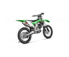 Ligne d'échappement complète Akrapovic Racing Line Inox & Titanium Kawasaki KX 250 F 2017