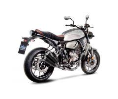 Ligne d'échappement complète Leovince GP Duals Inox Catalysée Yamaha 700 XSR 2016-2017