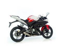 Ligne d'échappement complète Leovince GP Style Inox Yamaha YZF 125 R 2008-2013