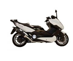 Ligne d'échappement complète Leovince Nero Inox / Noir / Carbone Yamaha XP 500 / XP 500 A ...