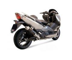 Ligne d'échappement complète Mivv 2 en 1 GP Carbone Yamaha 500 T-Max 2008-2011