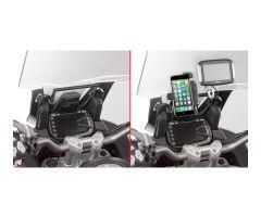 Châssis pour support GPS / Smartphone Givi Ducati 1200 Multistrada Enduro 2016-2017
