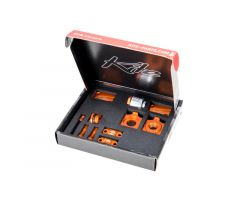 Kit d'accessoires Kite CNC Orange Husqvarna 125 TC 2016-2017
