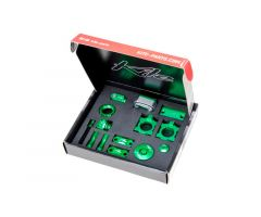 Kit d'accessoires Kite CNC Vert Kawasaki 250 KXF 11-17