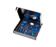 Kit d'accessoires Kite CNC Bleu Suzuki 250 RMZ 2007-2017