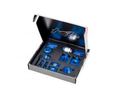 Kit d'accessoires Kite CNC Bleu Yamaha 250 YZF 2009-2013
