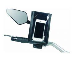 Support de téléphone Chaft fixation à la tige de rétroviseur