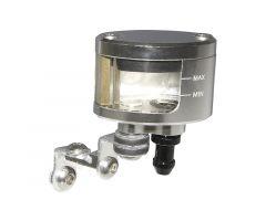 Bocal de maître cylindre de frein CNC P2R oval Argent