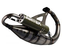 Pot d'échappement Artek K2 Evo silencieux Kevlar Peugeot Ludix Blaster-One-Snake-Trend-Speedfight 3