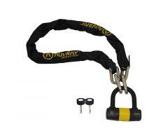 Antivol à chaine Auvray K-Block avec cadenas