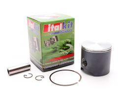 Piston Vertex-Italkit 50mm mono segment graphité pour Top Alu 86cc