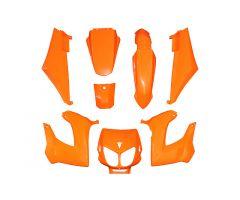 Kit carénages Replay Orange Brillant Derbi Senda jusqu'a 2010