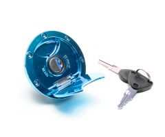 Bouchon de réservoir d'essence Tun'R Bleu MBK Nitro