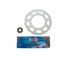Kit chaine AFAM 11x52 Suzuki SMX / RMX ***