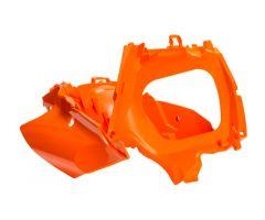 Boîte à air Acerbis KTM 125 / 150 SX 2011-2015 Orange