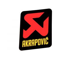 Autocollant Akrapovic 75x75mm