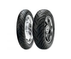 Pneu Dunlop American Elite WWW Flanc Blanc Large 180 / 65 / 16 TL 81H