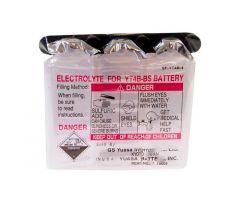Acide de batterie Yuasa pour batterie YT4B-BS