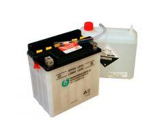 Batterie 6-ON YB10L-A2 avec pack acide 12V / 11 Ah