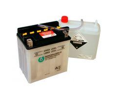 Batterie 6-ON YB10L-B2 avec pack acide 12V / 11 Ah