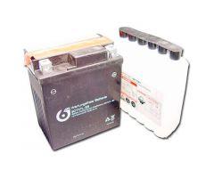 Batterie 6-ON YTX7L-BS avec pack acide 12V / 7 Ah