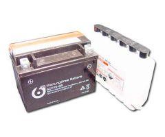 Batterie 6-ON YTX9-BS avec pack acide 12V / 8 Ah
