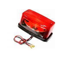 Feu arrière JMP avec support de plaque d'immatriculation Honda XL 350 R / XL 500 R ...