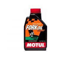 Huile de fourche Motul synthétique 10W Fork Oil Expert Medium 1L