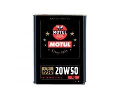 Huile de moteur Motul 20W50 4T Classic Oil 2L
