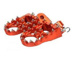 Repose-pieds Accossato Motocross Orange KTM SX-F 450 i.e. / SX-F 250 i.e.4T ...