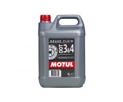 Liquide de frein Motul DOT3/4 5L