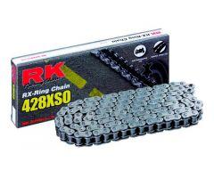 Chaine RK X-RING 428XSO/124 Ouverte avec attache à river