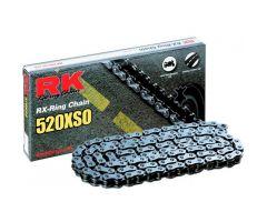 Chaine RK X-RING 520XSO/112 Ouverte avec attache à river